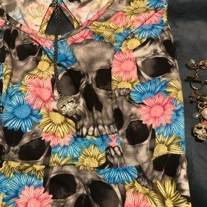 Hot Topic Skull Dress